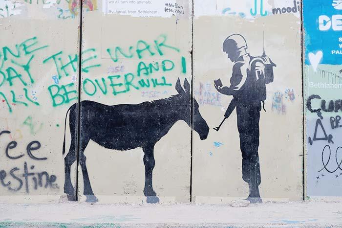 Graffiti in Jerusalem