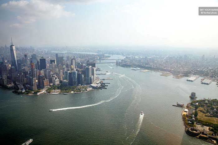 See New York City above the clouds in a helicopter tour