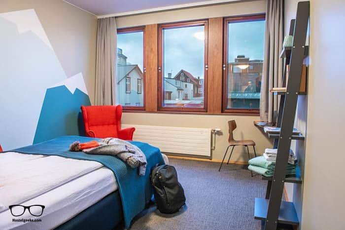 Best hostel in Iceland, Loft Hi Hostel.