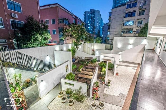 Hidden Garden International Youth Hostel is one of the best hostels in Shanghai, China