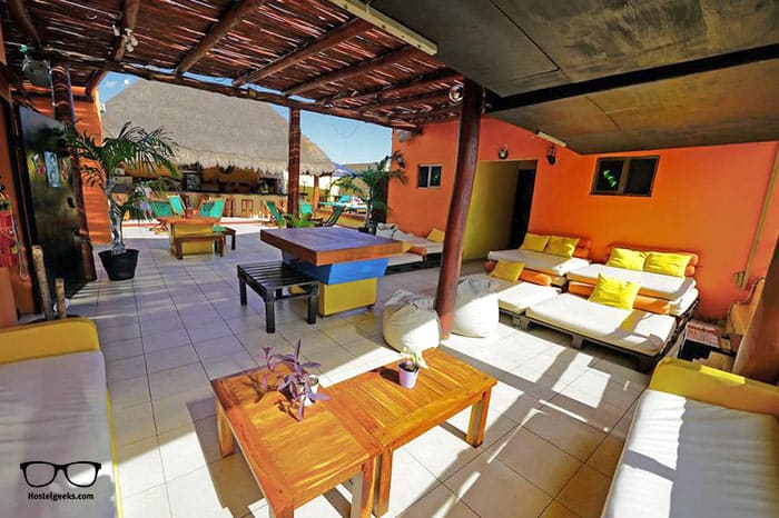 Hostel 3B Chic & Cheap is one of the best party hostels in Playa del Carmen, Mexico