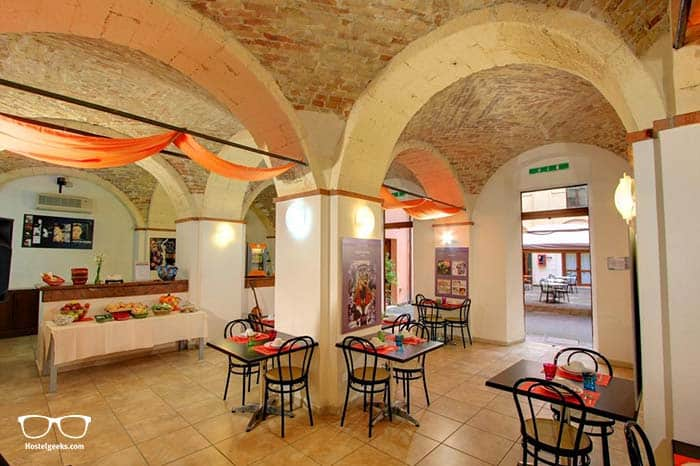 Best hostel in Sardinia, Italy.