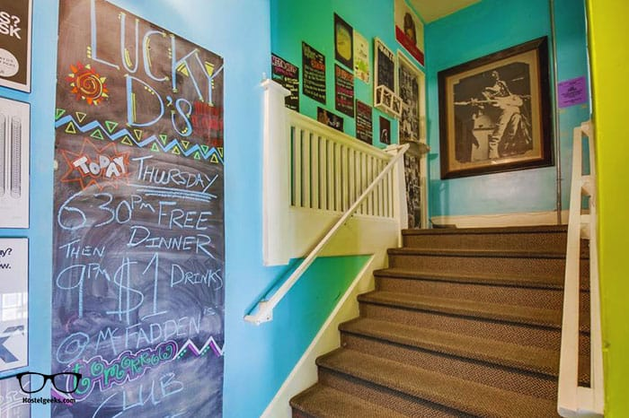 Lucky D's Hostel is one of the best party hostels in San Diego, USA