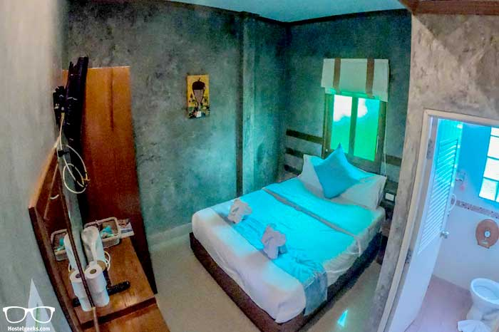 Private room in Mad Monkey hostel