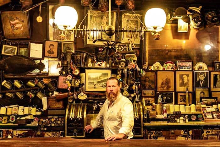 Visit the he oldest Irish pub in New York, the McSorley's Old Ale House