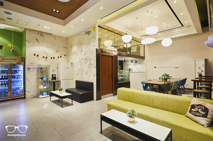 Meego Qingwen Hotel is one of the best hostels in Shanghai, China