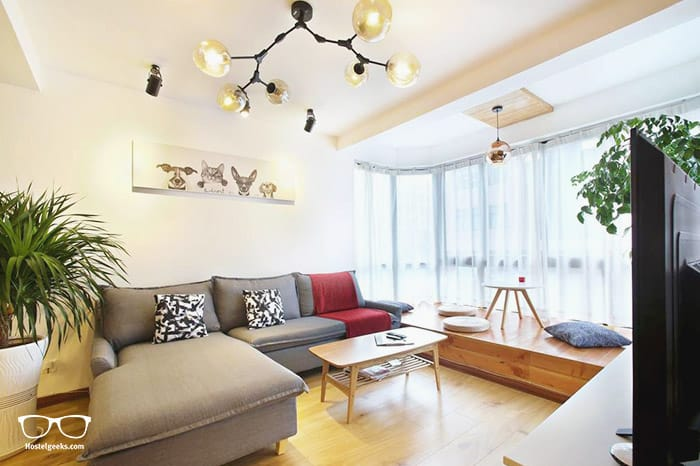 Ruijin Garden Apartment is one of the best hostels in Shanghai, China