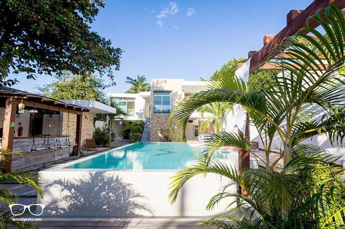 Sayab Hostel is one of the best hostels in Playa del Carmen for solo travellers