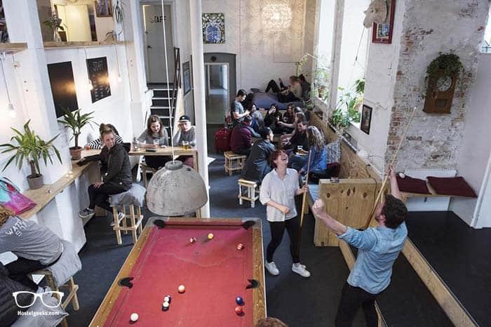 Sleep-in Heaven in Copenhagen, best party hostel in Denmark.