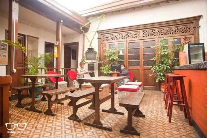 Cheap hostel in Bogota, Colombia.
