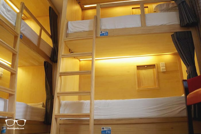 The Phoenix Hostel is one of the best hostels in Shanghai, China