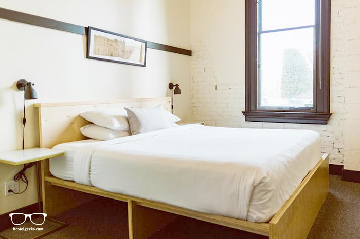 The Society Hotel is one of the best hostels in Portland, USA