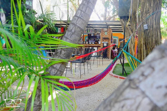 The Yak is one of the best hostels in Playa del Carmen, Mexico