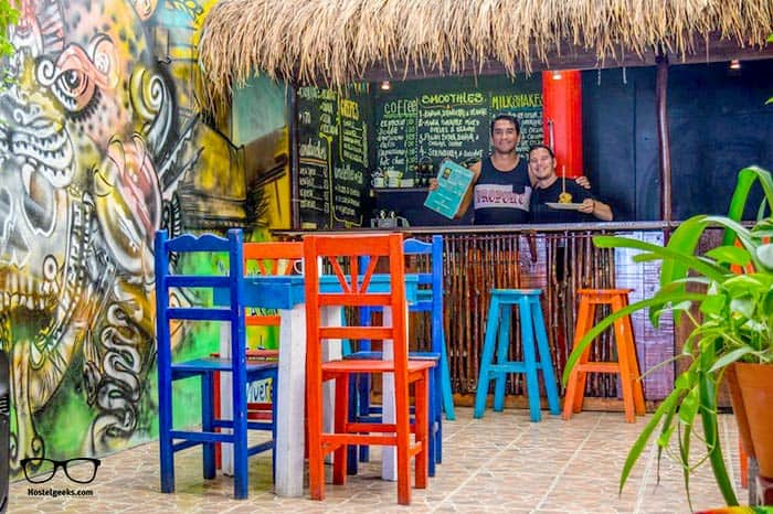 Tres Mundo Hostel is one of the best hostels in Playa del Carmen for solo travellers