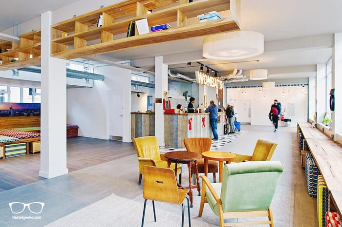 Wombats City Hostel London is one of the best hostels in London, UK