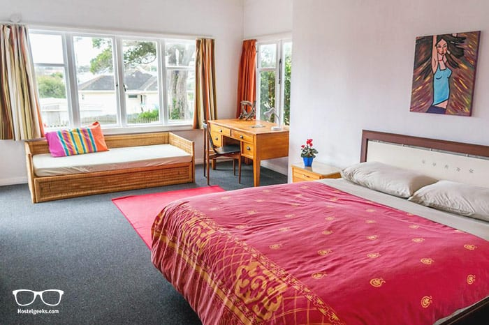 42b College House is one of the best hostels in New Zealand, Oceania