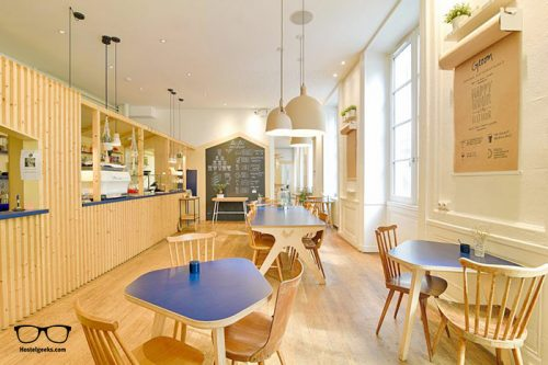 Away Hostel & Coffee Shop is the only 5 Star Hostel in Lyon, France