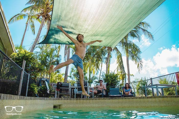 Backpackers by the Bay is one of the best hostels in Airlie Beach, Australia