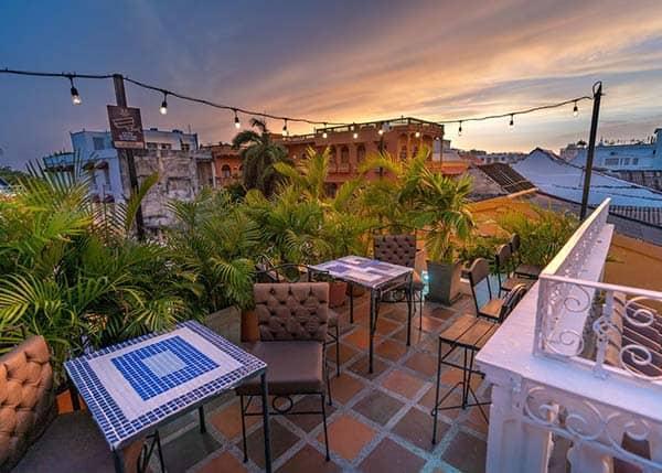 Roof Top Terrace at Life Is Good Hostel
