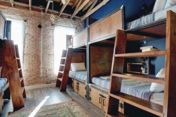 Deep Ellum Hostel is the only 5 Star Hostel in Dallas, Texas in the USA