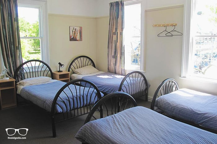Dorset House Backpackers is one of the best hostels in Christchurch, New Zealand