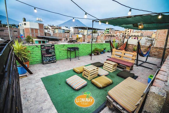 Econunay Hostel is one of the best hostels in Arequipa for solo travellers