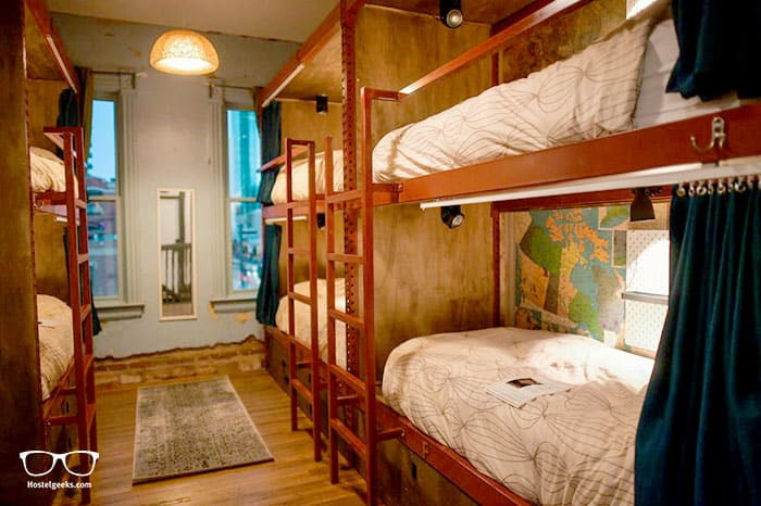Hostel Fish is one of the best hostels in Denver, Colorado