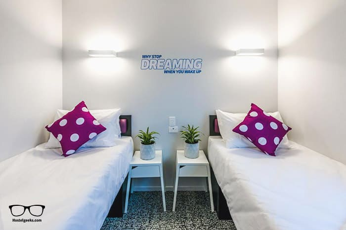 JUCY Snooze Christchurch is one of the best hostels in Christchurch, New Zealand