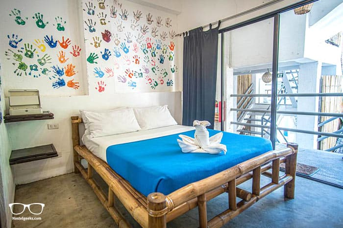 Mad Monkey Hostel Boracay is one of the best party hostels in Boracay, Philippines