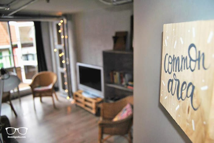 Quartier Bilbao Hostel is one of the best hostels in Bilbao, Spain