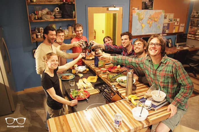 The Crash Pad: An Uncommon Hostel is the only 5 Star Hostel in Chattanooga, Tennessee in the USA