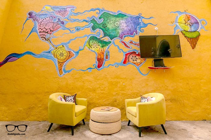 Way Kap Hostel is one of the best hostels in Arequipa, Peru