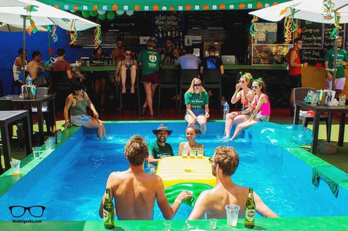 Wild Rover Arequipa is one of the best party hostels in Arequipa, Peru