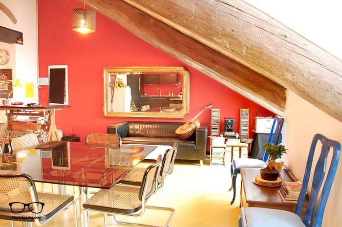 Attic Hostel Torino is one of the best hostels in Turin, Italy