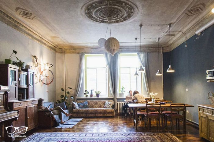 Chickadee Hostel is one of the best hostels in St Petersburg, Russia