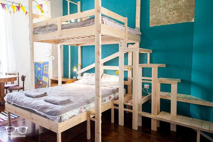 Chickadee Hostel is one of the best hostels in St Petersburg, Russia