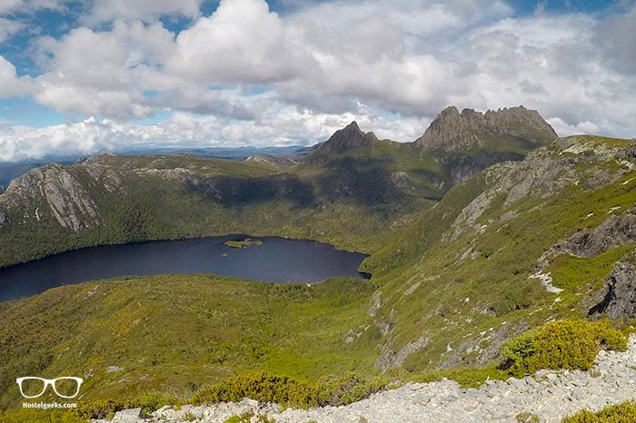 Climbing Cradle Mountain is one of the fun things to do in Tasmania, Australia