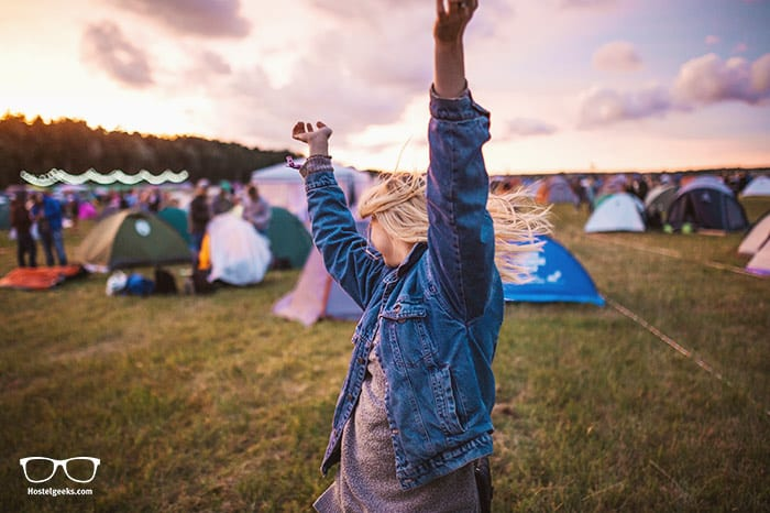 How to travel the world for free? Fesitval hop around the world