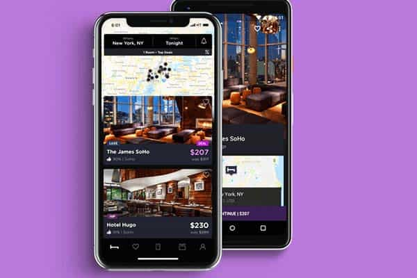 HotelTonight App