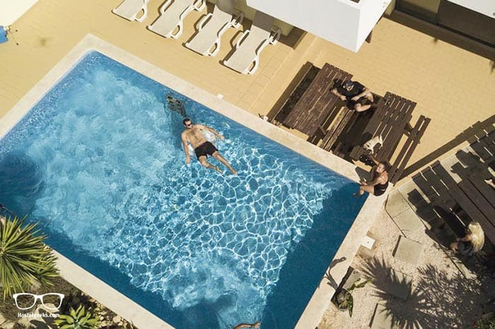 Algarve Surf Hostel is one of the best hostels in Lagos, Portugal for backpackers