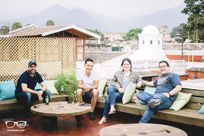 Barbara's Boutique Hostel is one of the best hostels in Antigua Guatemala