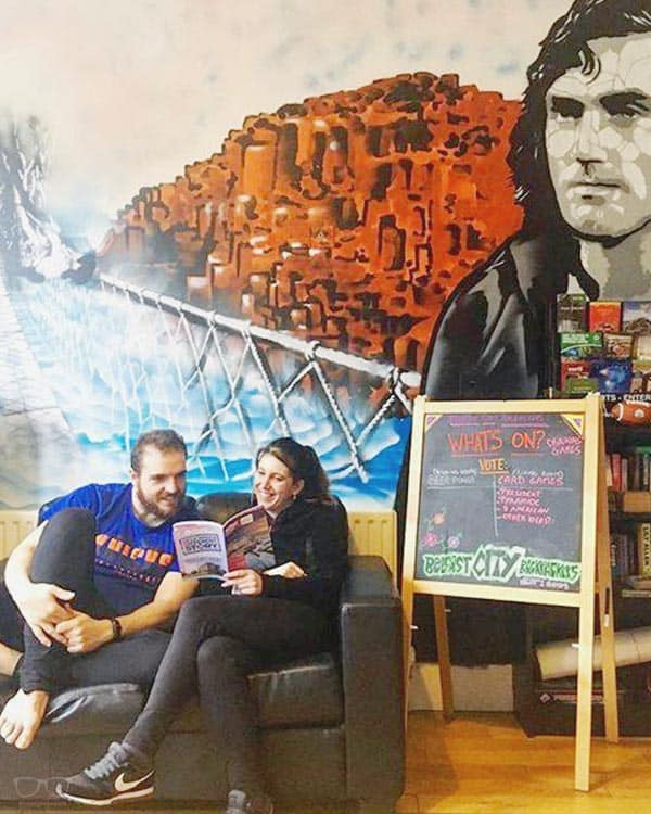 Belfast City Backpackers is one of the best party hostels in Belfast, Northern Ireland UK
