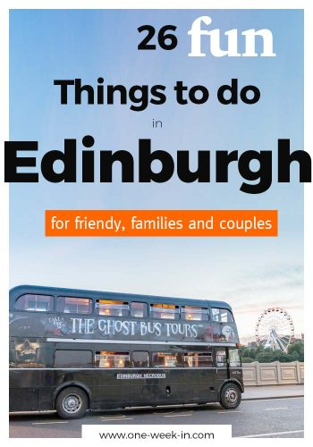 26 Fun Things to do in Edinburgh, Scotland - Festivals, Dungeons and Gardens
