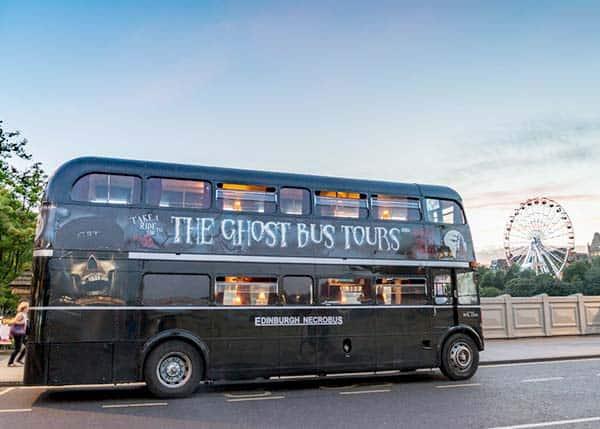 Ghost Bus tour in edinburgh