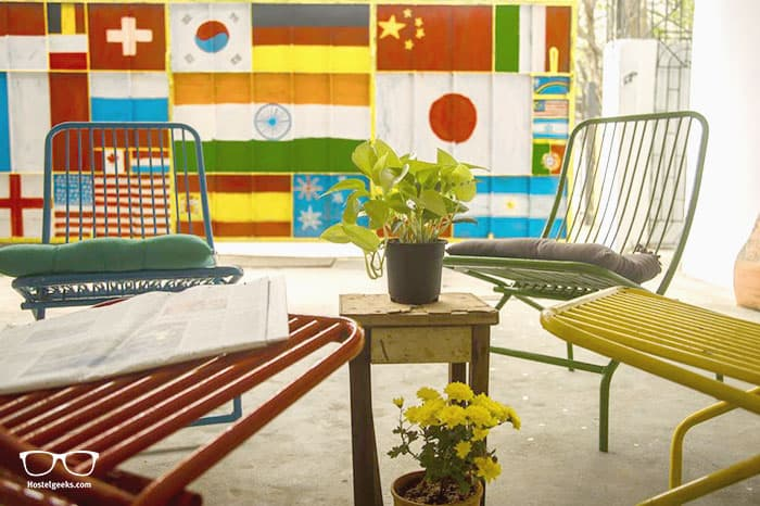 Hostel Gandi is one of the best hostels in Chennai for solo travellers