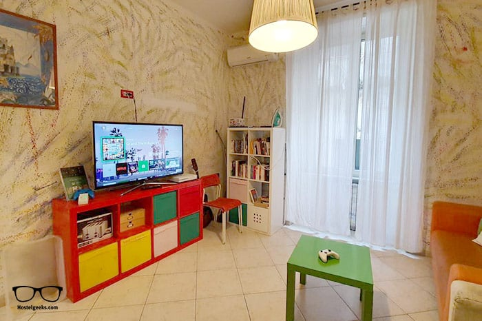 Hostel Mancini is one of the best hostels in Naples, Italy for backpackers