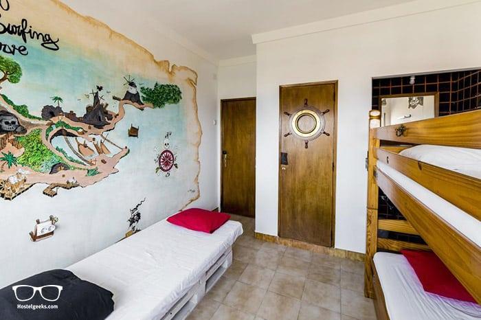 Best Surf Hostels in Portugal - Hostel & Surfcamp 55 in Ericeira