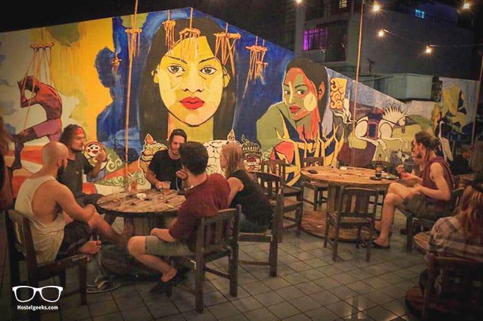 Hostel9 is one of the best party hostels in Yangon, Myanmar