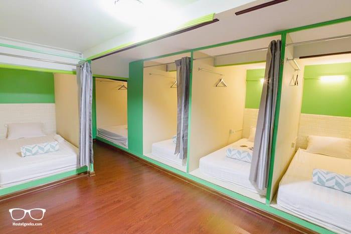 Little Monkey Hostel is one of the best hostels in Yangon, Myanmar
