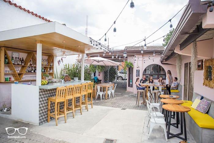 Maya Papaya is one of the best hostels in Antigua Guatemala